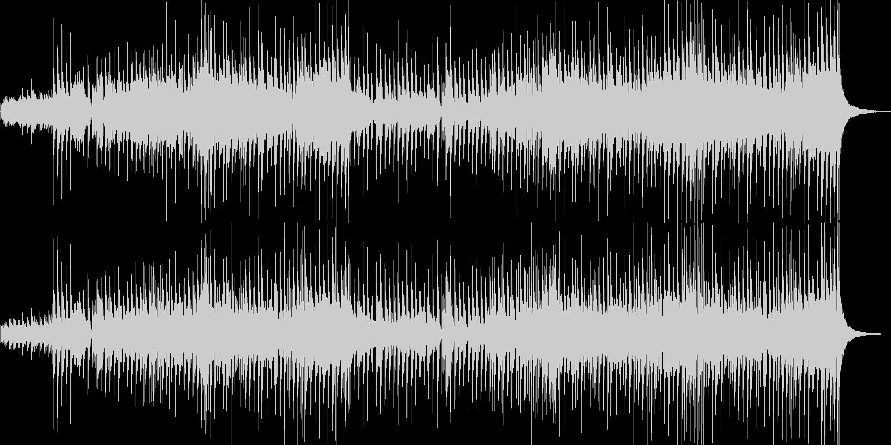 軽快なポップさとカントリー風なサウンドの未再生の波形