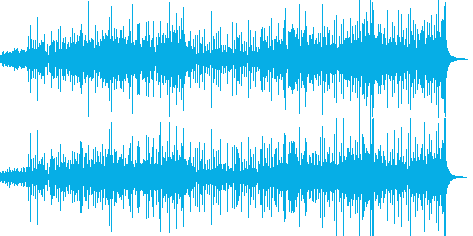 軽快なポップさとカントリー風なサウンドの再生済みの波形