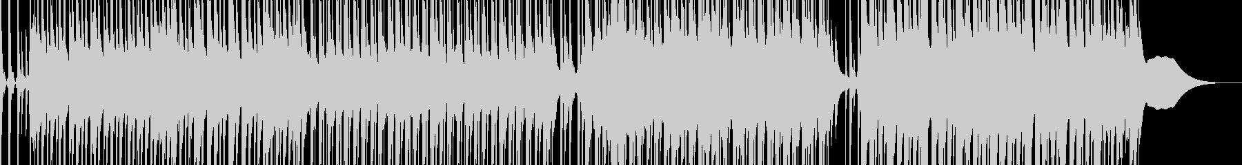 軽快ではずみのあるエレクトロBGMの未再生の波形