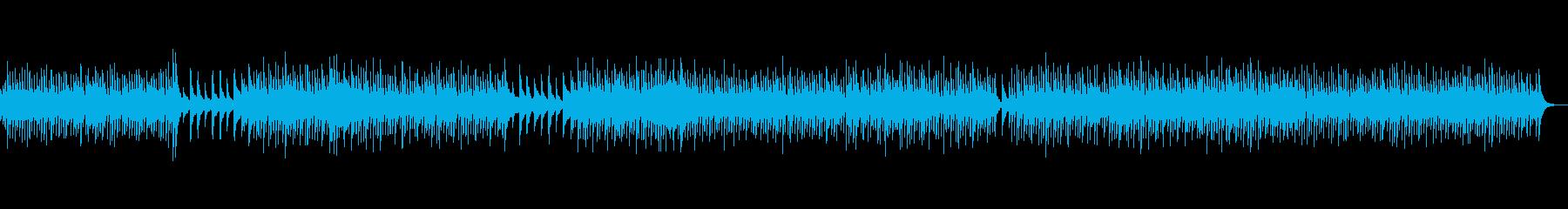 和風バッハ「主よ人の望みの喜びよ」琴のみの再生済みの波形