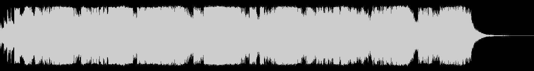 ピアノとストリングス/朝のジングル1の未再生の波形