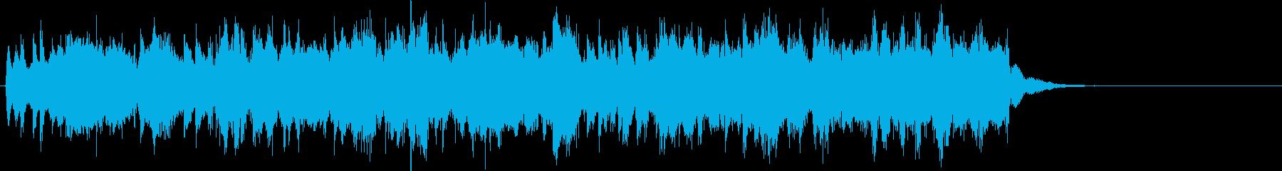 エレアコ混在の幻想アイキャッチの再生済みの波形