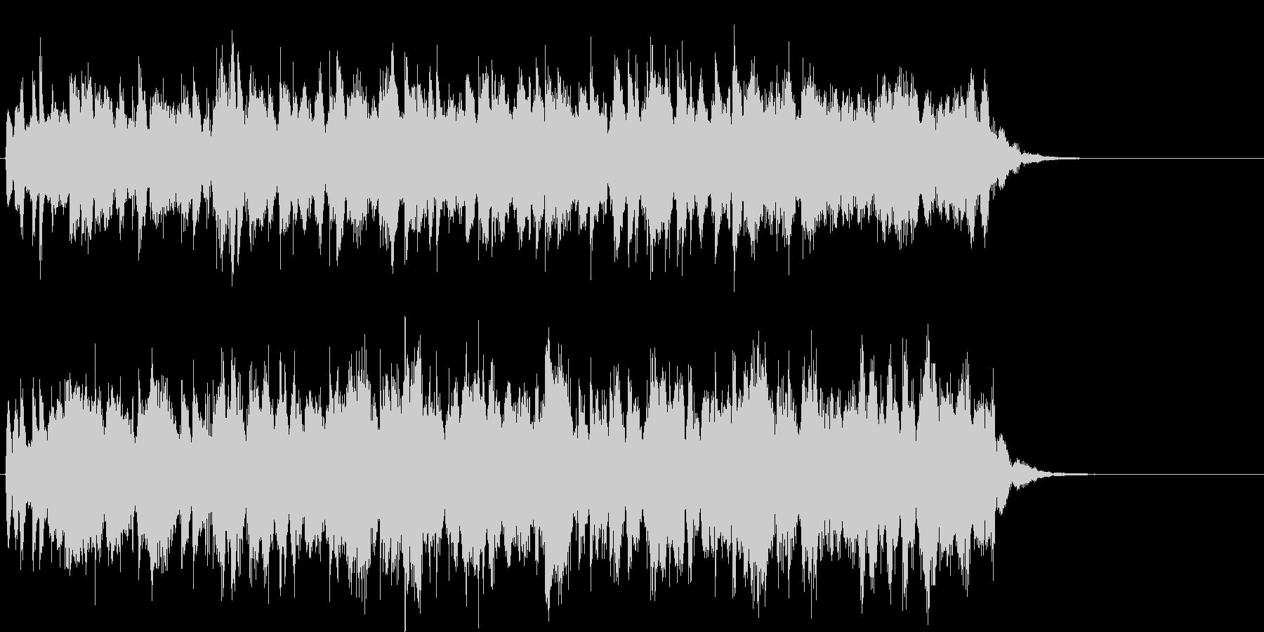 エレアコ混在の幻想アイキャッチの未再生の波形