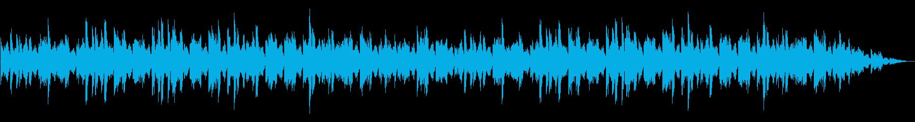 お化け屋敷・洋館・廃墟 不気味オルゴールの再生済みの波形