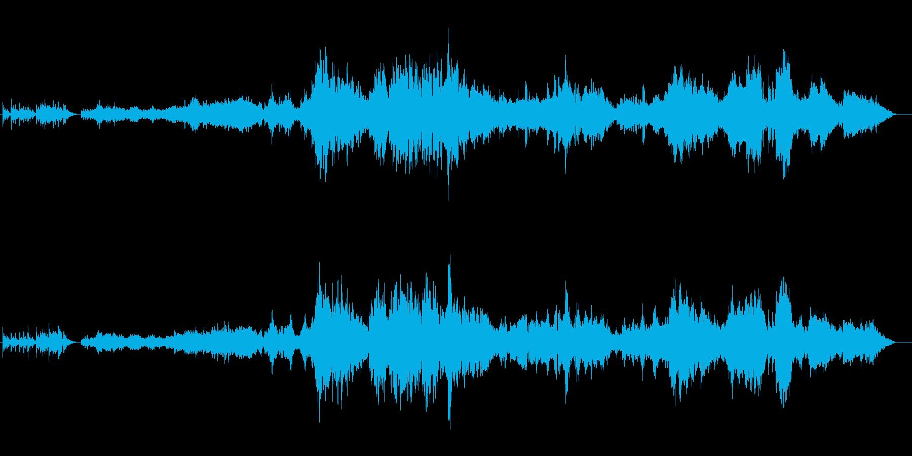 映像作品の主題BGMに(爽やか小編成)の再生済みの波形