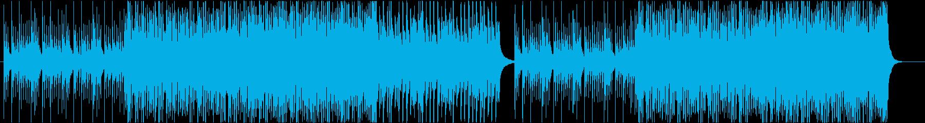 やさしさや荘厳さを感じるピアノの再生済みの波形