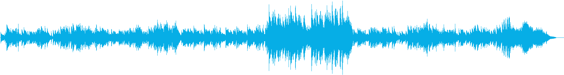 可愛らしいピアノのワルツです。の再生済みの波形