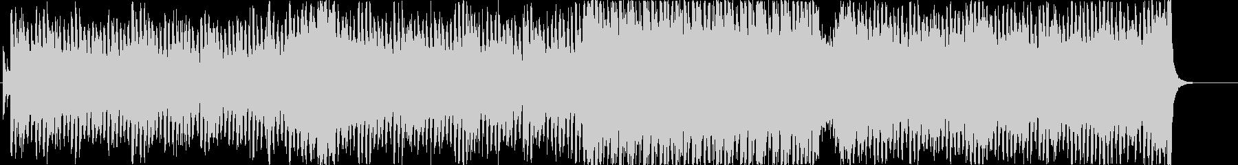 奇麗なピアノメロディのエレクトロポップの未再生の波形