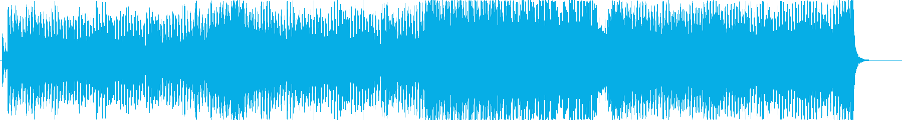 奇麗なピアノメロディのエレクトロポップの再生済みの波形
