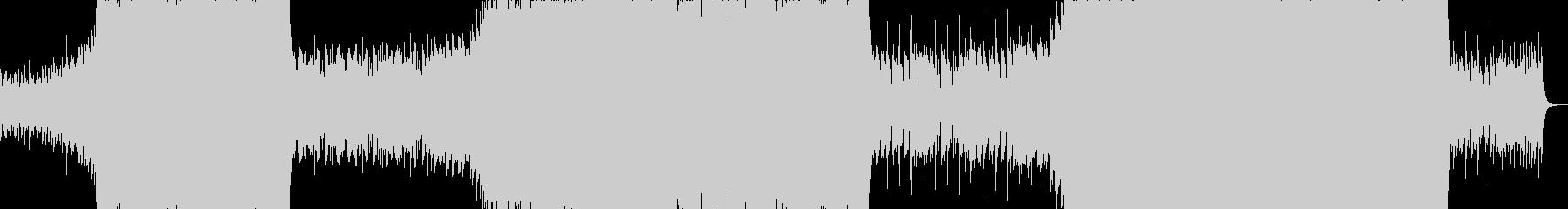 激しいシネマティックエピックサウンドの未再生の波形