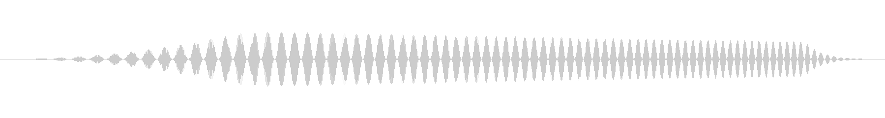 ヒュイ(スワイプ、フリック系の音)の未再生の波形