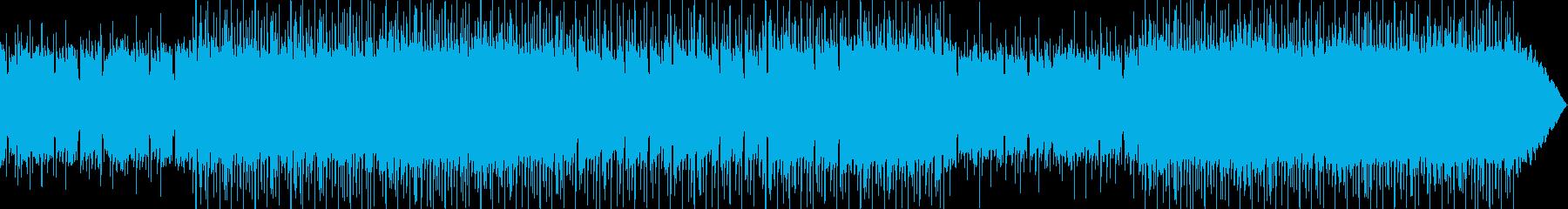 メロウで穏やかな気持ちになるチルアウトの再生済みの波形