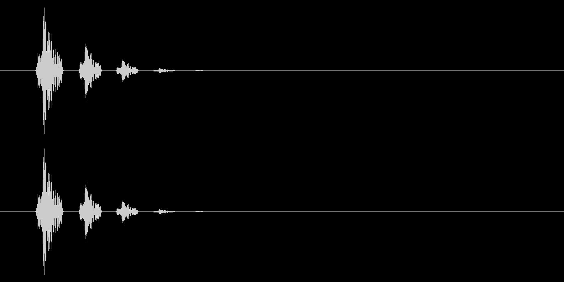 SNES-アクション01-09(ドア)の未再生の波形