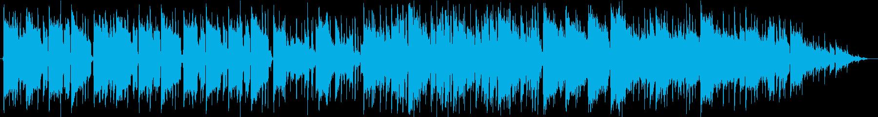 甘く切ないLofiインストバラードの再生済みの波形