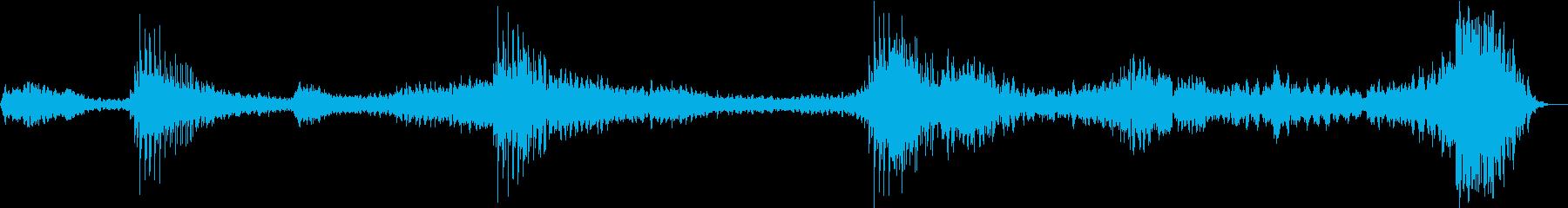 【ホラー】 【映画】 迷いの再生済みの波形