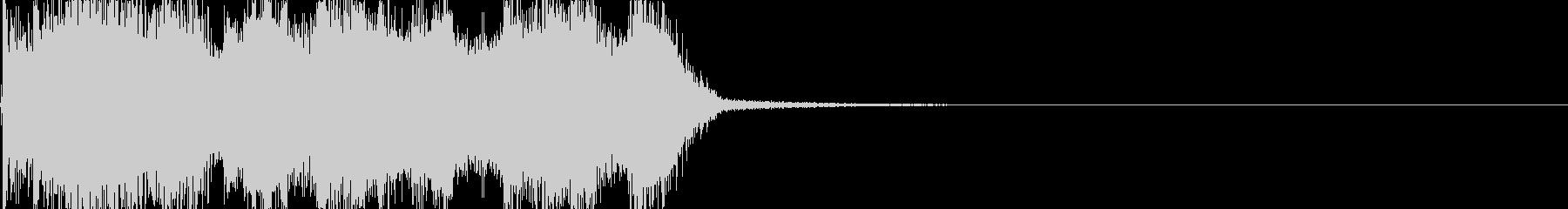 アイリッシュなジングル/サウンドロゴの未再生の波形