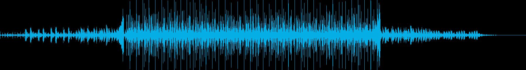 ミステリアスなマリンバのダンスの再生済みの波形