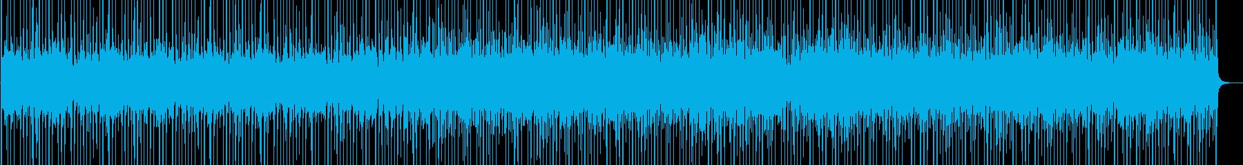 ジャングルにいるようなアフリカン風楽曲の再生済みの波形