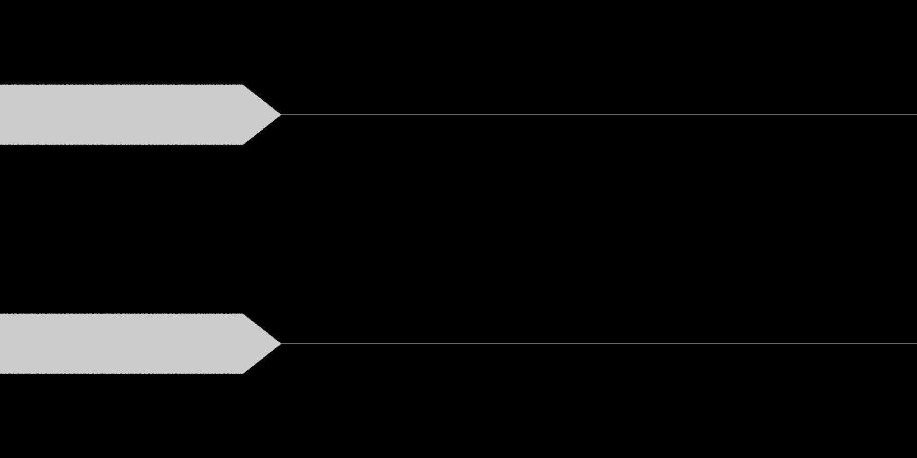 3kHz_100msec(ピッ)の未再生の波形