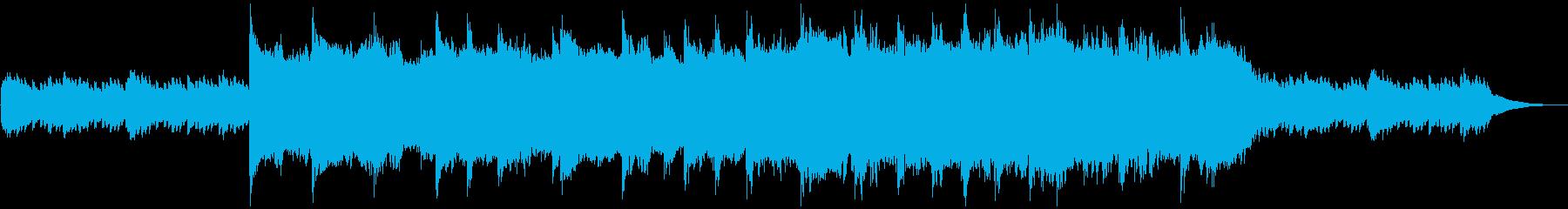 幻想的な映像に合うエレクトロニカの再生済みの波形