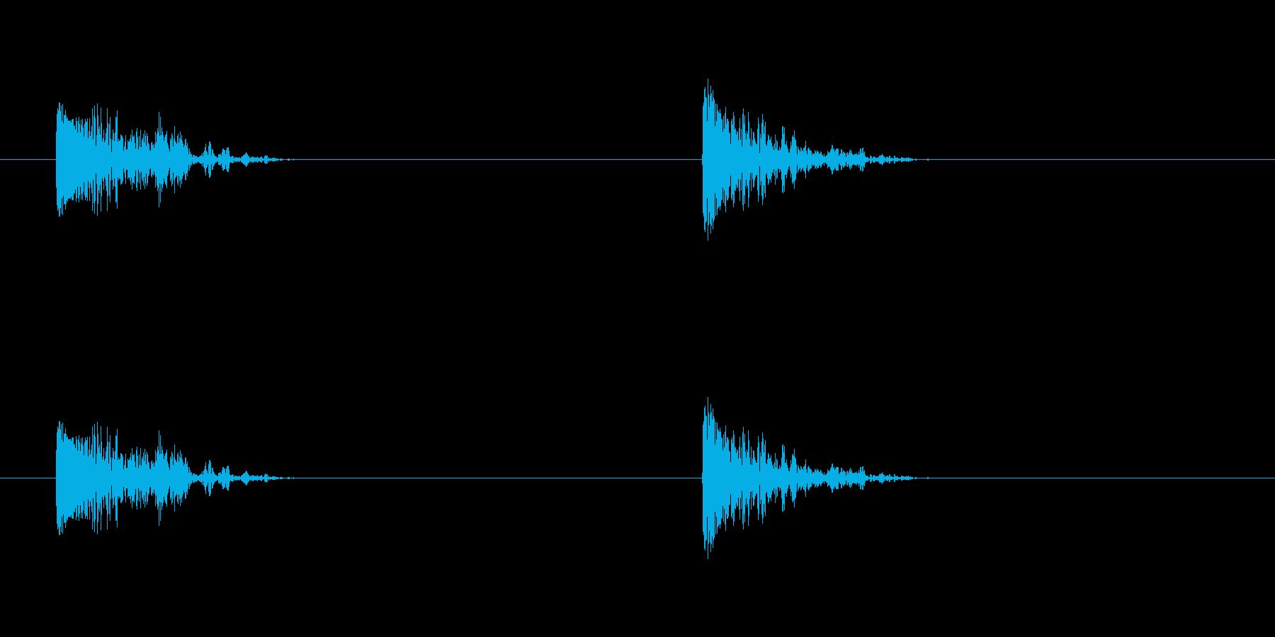爆発26の再生済みの波形
