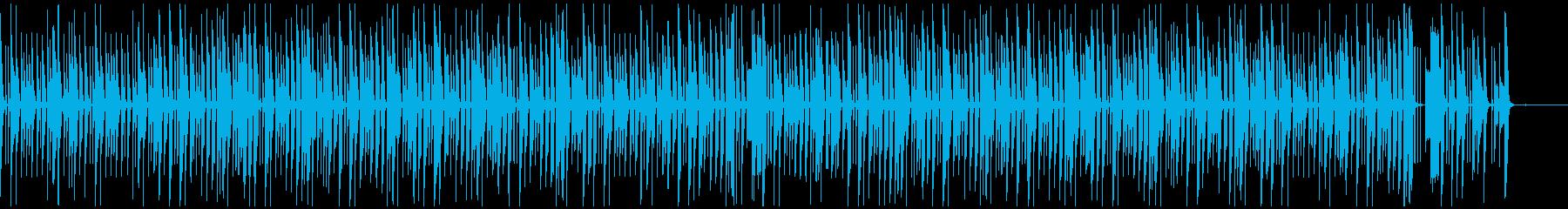 小人のクイズBの再生済みの波形