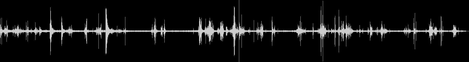 レスキューワーカーの移動と瓦Rのピ...の未再生の波形
