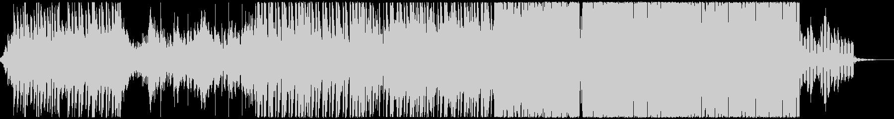 DnBとFutureBassの融合の未再生の波形