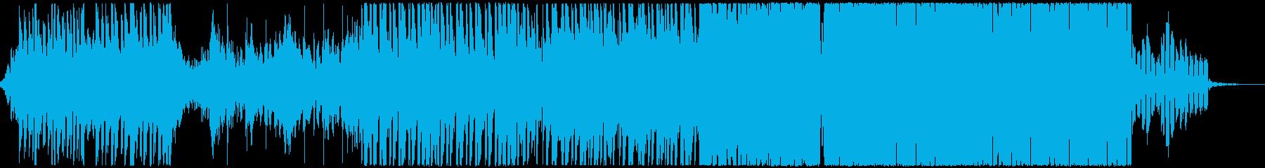 DnBとFutureBassの融合の再生済みの波形