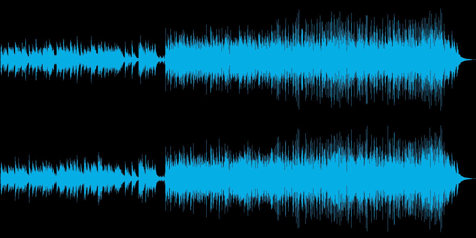 クリスマス定番曲 ジャズトリオ 軽快の再生済みの波形