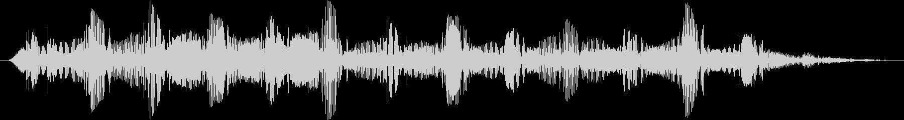 ドローン バスバブル03の未再生の波形