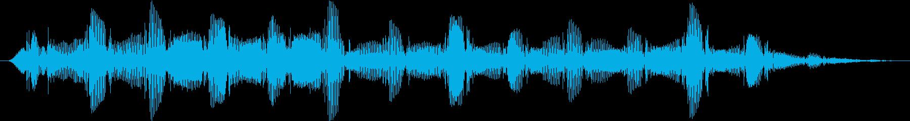 ドローン バスバブル03の再生済みの波形