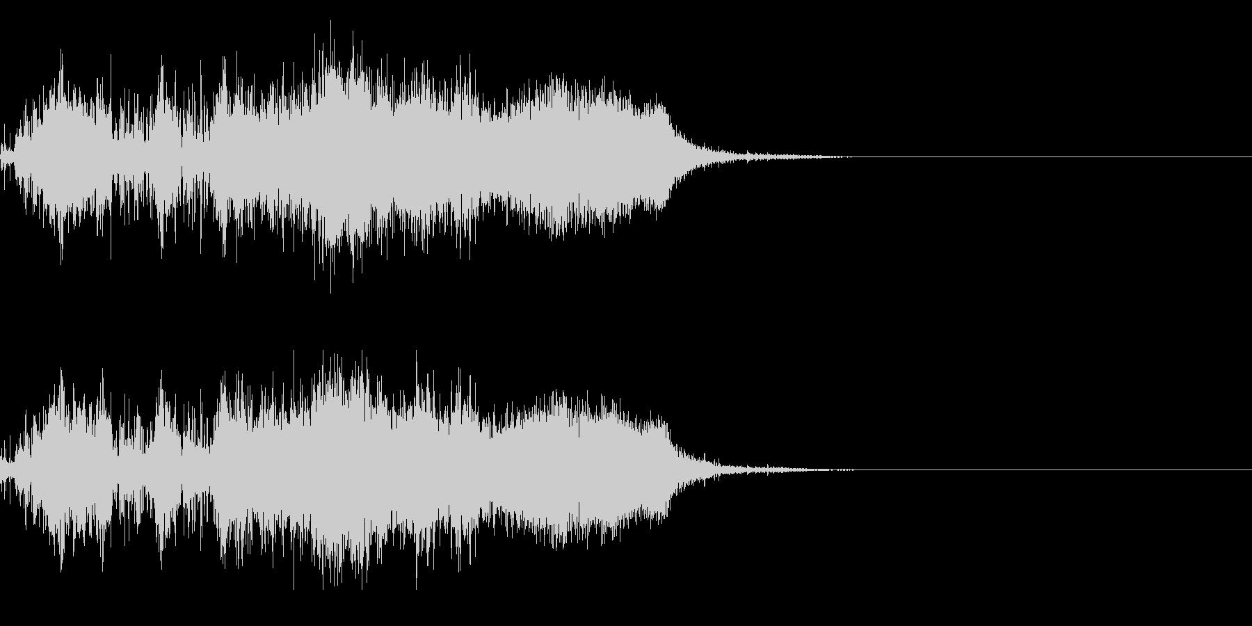 スパーク音-28の未再生の波形