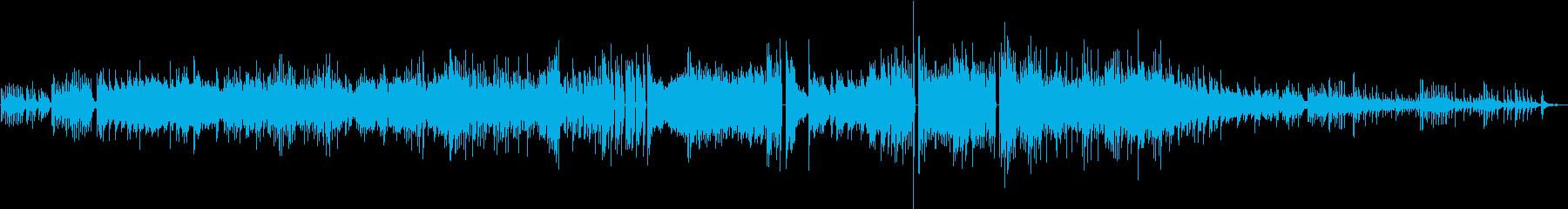 ポップな三拍子ピアノソロ曲の再生済みの波形