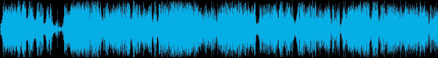 ハード電気火炎アークバースト電気、...の再生済みの波形