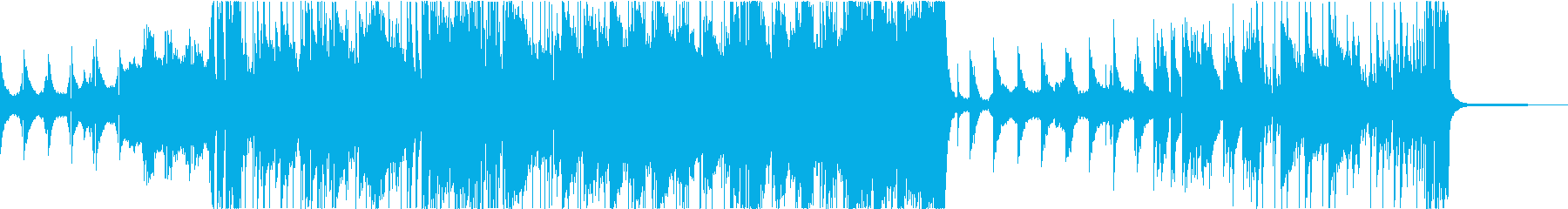 ドキュメンタリーのエンディング・挿入曲の再生済みの波形