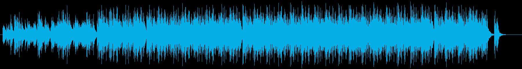 可愛らしいマリンバのミニマルの再生済みの波形