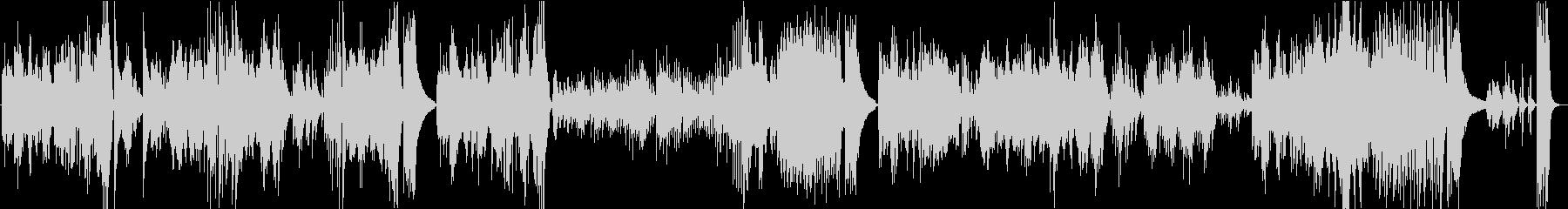 ベートーベンピアノソナタ第8番悲愴第3楽の未再生の波形