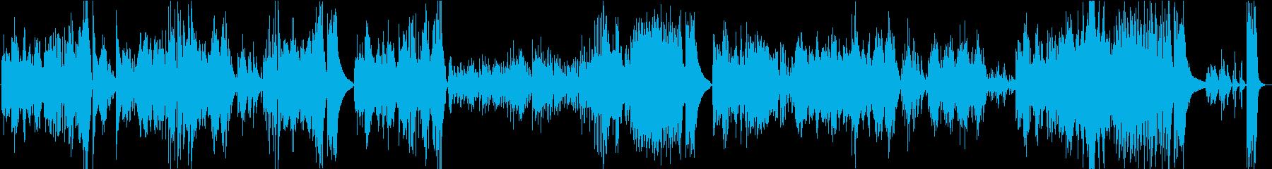 ベートーベンピアノソナタ第8番悲愴第3楽の再生済みの波形