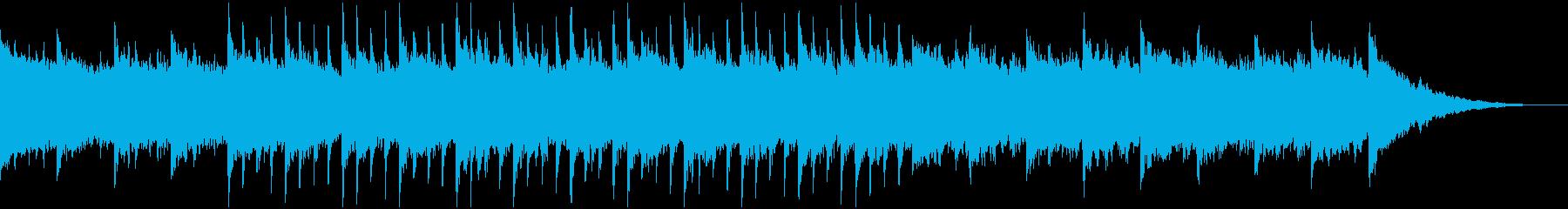 60秒企業VP8,コーポレート,ゆっくりの再生済みの波形