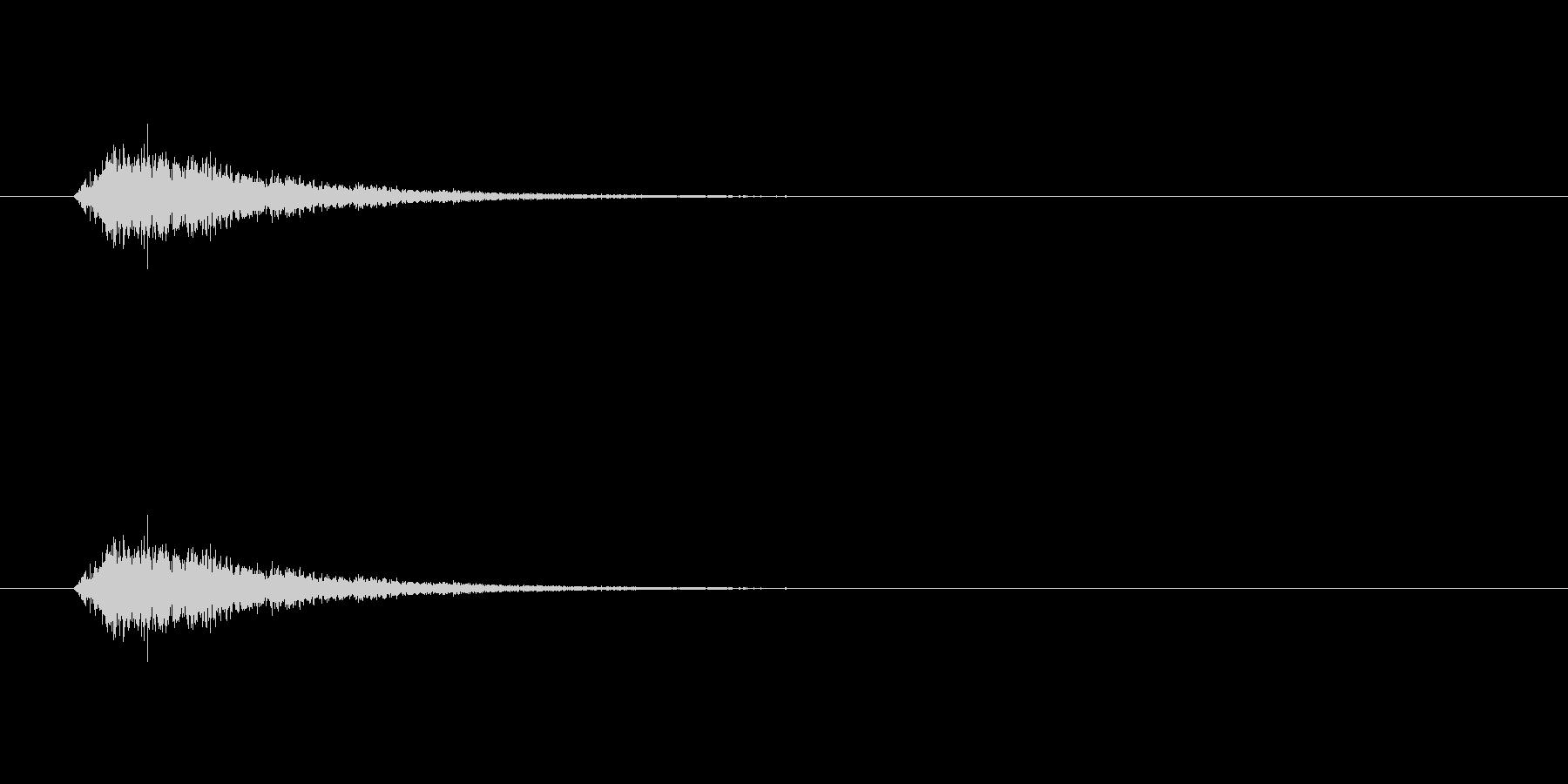 【ポップモーション41-3】の未再生の波形
