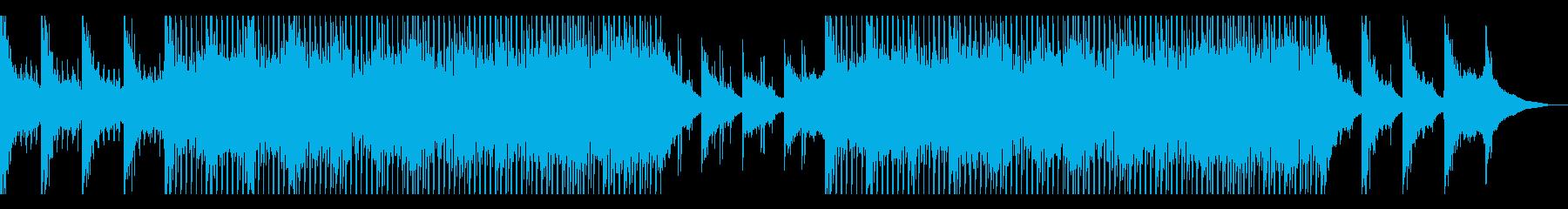 力強くて印象的なピアノのメロディです。の再生済みの波形