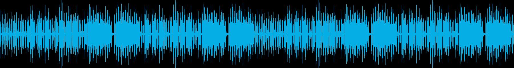 ハリネズミが営む服屋のBGM※ループ仕様の再生済みの波形