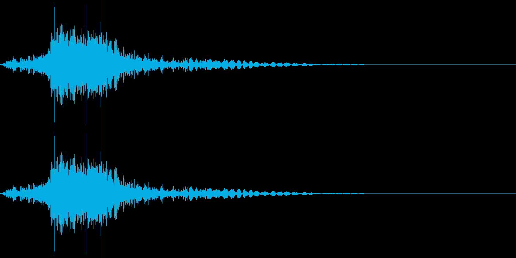 【SE】ファイア、炎、火の魔法03の再生済みの波形