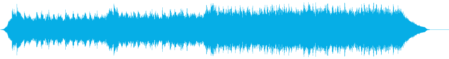 企業VP映像、107オーケストラ、爽快bの再生済みの波形