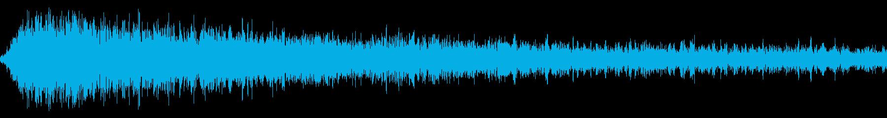 ホラー3(幽霊が現れる音)の再生済みの波形