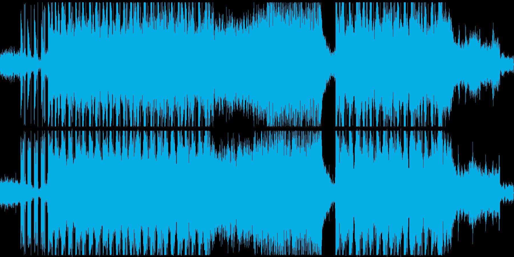 神秘的な雰囲気のシンセリードヒップホップの再生済みの波形