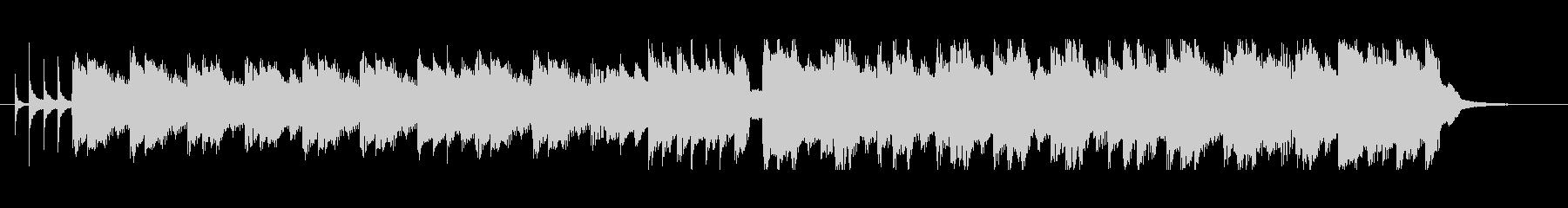 紹介動画に合う淡々としたハーモニカ曲の未再生の波形