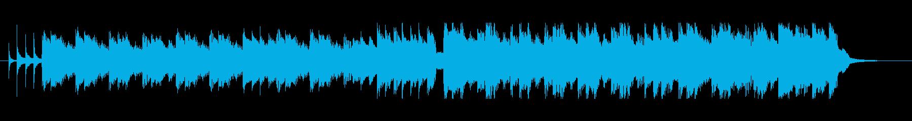 紹介動画に合う淡々としたハーモニカ曲の再生済みの波形