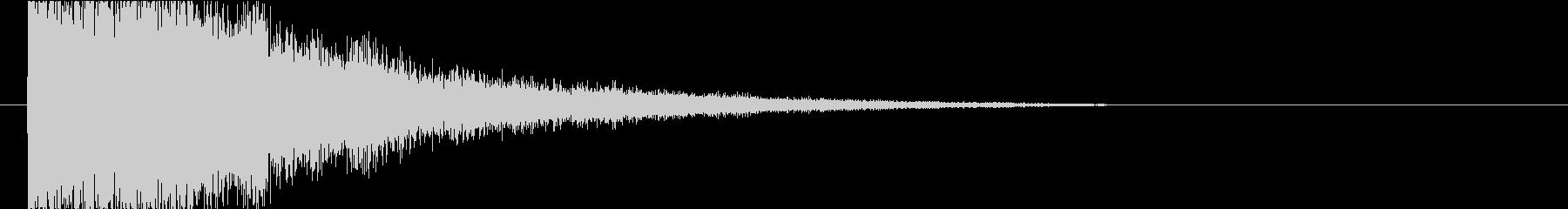 衝撃 フラッシュ01の未再生の波形
